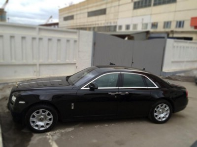 Аренда Rolls-Royce Ghost (Black)